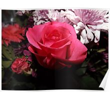 Valentine's Day Flowers Poster