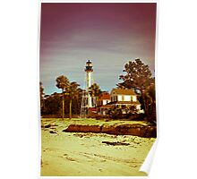Cape San Blas Lighthouse Poster
