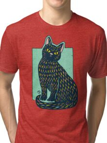 Hey there pretty whiskers Tri-blend T-Shirt