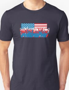 4th July Flag Celebrations T-Shirt