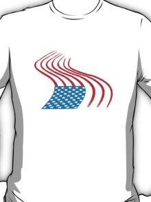 Flag Paint Graffiti T-Shirt