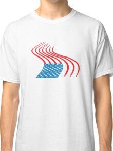 Flag Paint Graffiti Classic T-Shirt