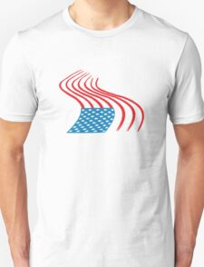Flag Paint Graffiti T-Shirt