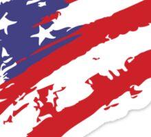 Graffiti USA Flag Sticker