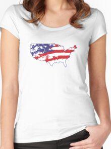 Graffiti America Women's Fitted Scoop T-Shirt