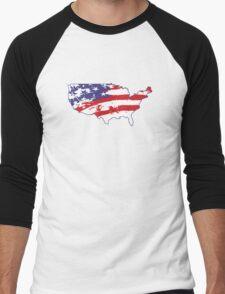 Graffiti America Men's Baseball ¾ T-Shirt