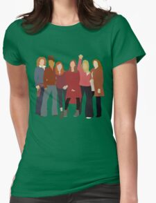 The Women of Doctor Who  Womens Fitted T-Shirt