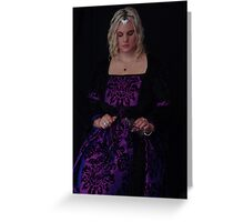 Medieval Maiden #4 Greeting Card