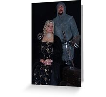 Medieval Couple #3 Greeting Card