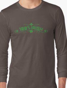 100% Irish Floral Long Sleeve T-Shirt