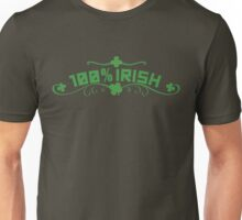 100% Irish Floral Unisex T-Shirt