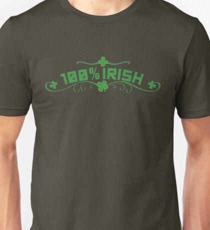 100% Irish Floral Unisex T-Shirt