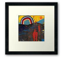Number 2 (Rainbow Series) Framed Print