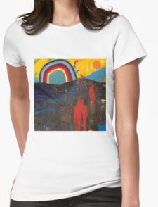 Number 2 (Rainbow Series) Womens Fitted T-Shirt