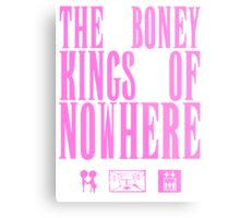 The Boney Kings of Nowhere -Pink Metal Print