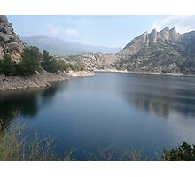 Pyrenees Lake Photographic Print
