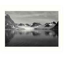 Svalbard Glacier Art Print