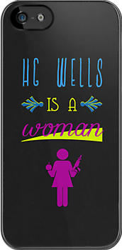 HG Wells is a Woman ~ Warehouse 13 by phoenix-cry