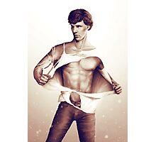 Sexy Benedict Cumberbatch / Sherlock V1 Photographic Print