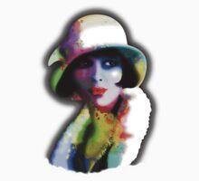 Girl's Twenties Vintage Glamour Art Portrait Kids Clothes
