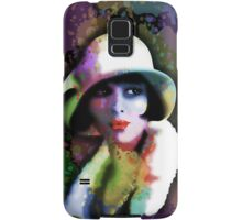 Girl's Twenties Vintage Glamour Art Portrait Samsung Galaxy Case/Skin