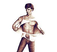Sexy Benedict Cumberbatch / Sherlock V2 Photographic Print