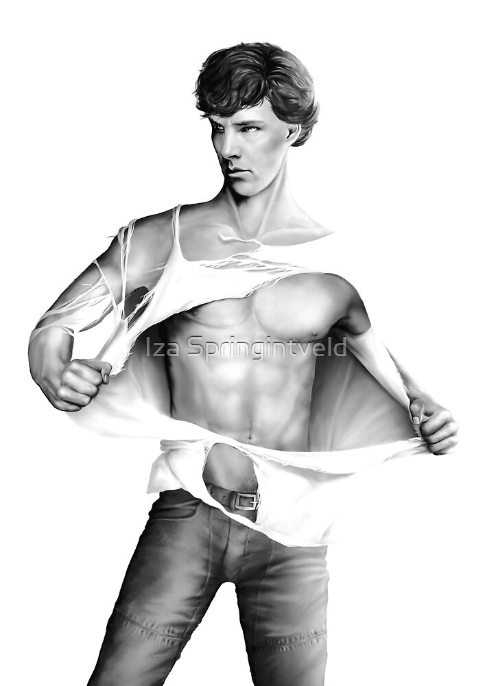 Sexy Benedict Cumberbatch / Sherlock V3 by Springintveld