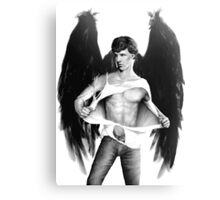 Sexy Benedict Cumberbatch / Winged Sherlock V1 Canvas Print