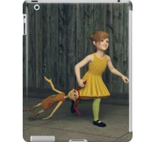 The Little Girl and Her Ragdoll iPad Case/Skin