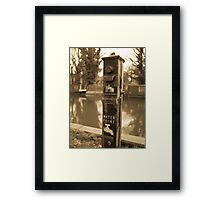 Water Point Framed Print