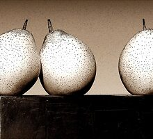 Three Lovely Pears by paintingsheep
