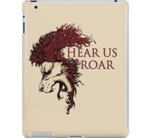 Hear us roar! iPad Case/Skin