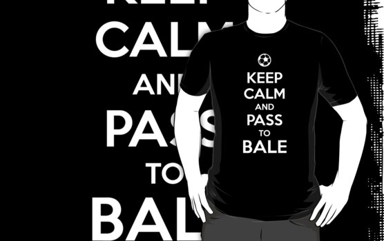 Keep Calm and pass to Bale by aizo