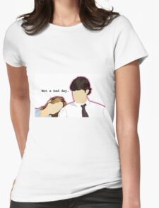 Jim and Pam - Custom L.C. Womens Fitted T-Shirt