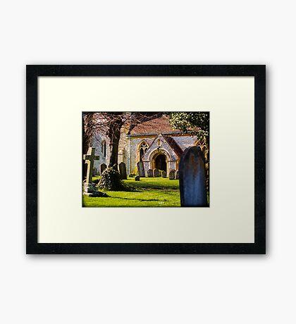 St Mary's Church Kintbury Berkshire Framed Print