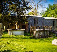 St Swithuns Church Combe by mlphoto