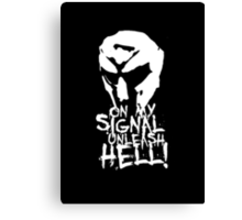 The Hell Canvas Print