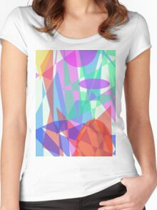 Sparkling Women's Fitted Scoop T-Shirt