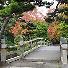 Bridge at Hama-rikyu Teien by sammyphillips