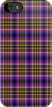 02331 Queens County, New York E-fficial Fashion Tartan Fabric Print Iphone Case by Detnecs2013