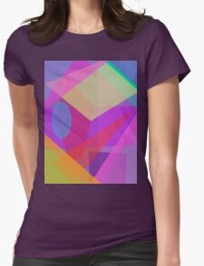 Rainbow Does Have the Eighth Color Womens Fitted T-Shirt