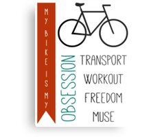 Bicycle obsession Metal Print