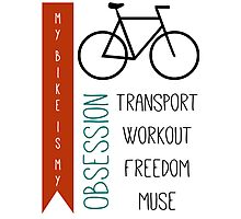 Bicycle obsession Photographic Print