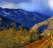 Langdale Valley, above Elterwater village by Mark Haynes Photography