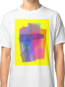 Transparency Yellow Classic T-Shirt