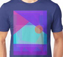 Setting Sun behind the Mountain Unisex T-Shirt