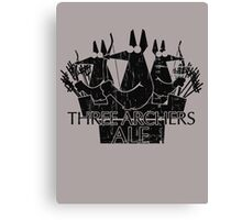Three Archers Ale Canvas Print