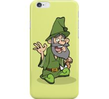 the wise green wizard iPhone Case/Skin
