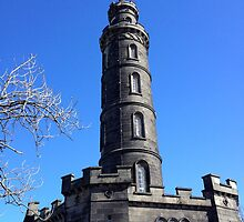 Nelson Monument, Calton Hill, Edinburgh by LBMcNicoll