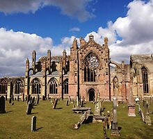 Springtime at Melrose Abbey, the Scottish Borders #1 by LBMcNicoll